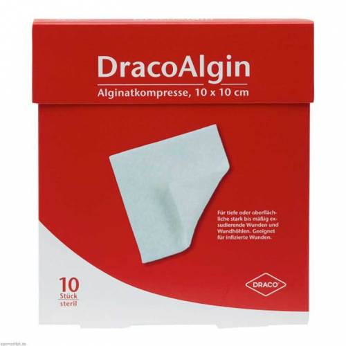 Dracoalgin 10x10cm Alginat K