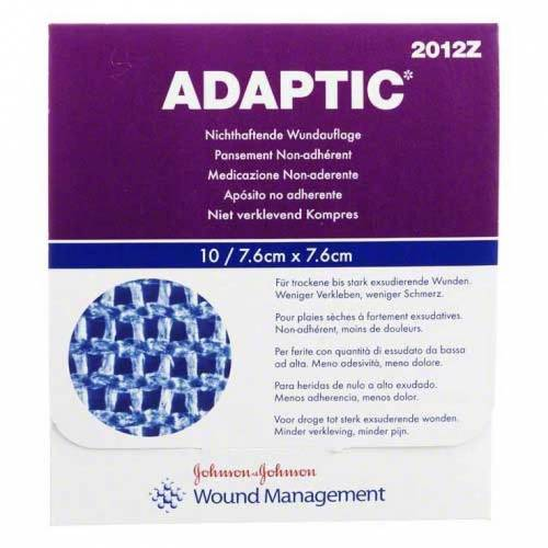 Adaptic 7,6x7,6cm feuchte Wu