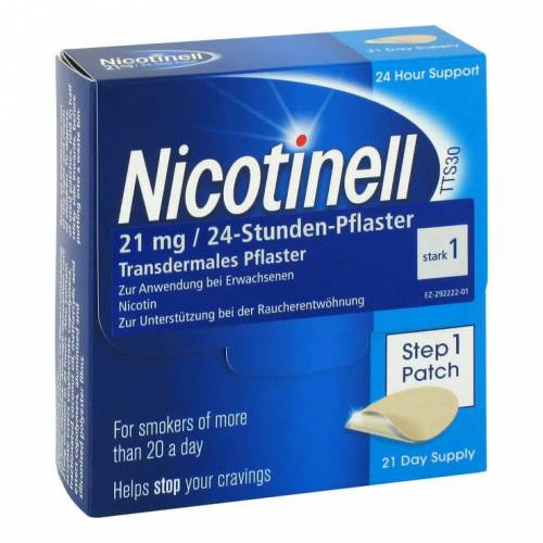Nicotinelle Nicotinell 21 mg 24-Stunden-Pflaster