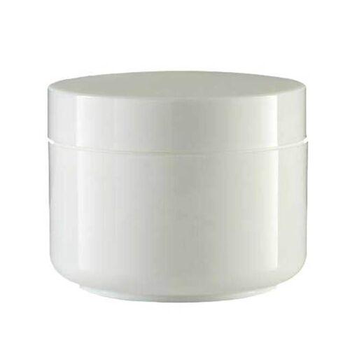 Cremedose doppelwandig weiß 50 ml
