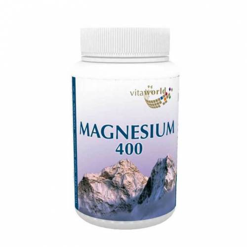 Vitaworld Magnesium 400 Kapseln