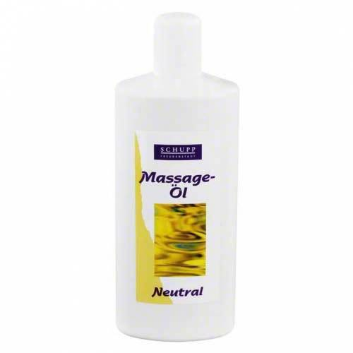 Schupp Massageöl Schupp neutral