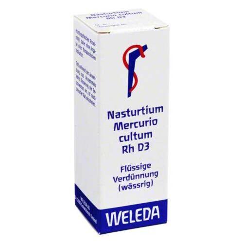 Weleda Nasturtium Mercurio Cultum Rh D 3 Presssaft Dil.