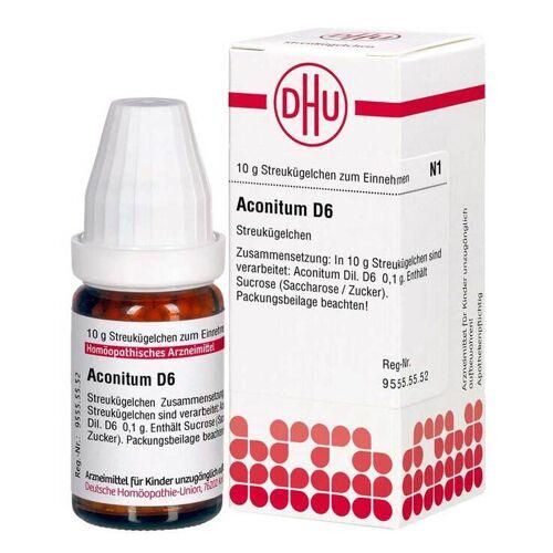 DHU Aconitum D6 Globuli