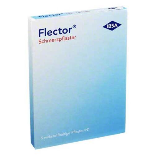 Flector Schmerzpflaster + elatischer Netzstrumpf