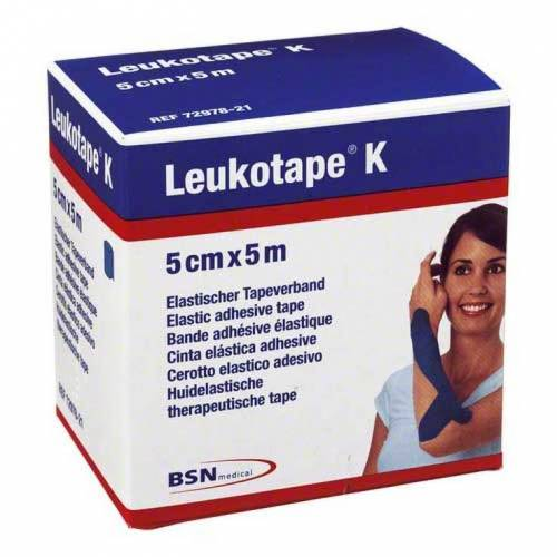 Leukotape K 5cm blau
