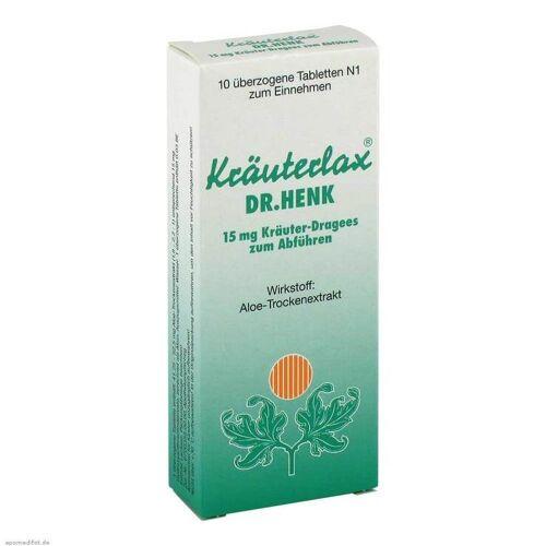 Kräuterlax Dr. Henk 15 mg Kräuterdrag.z.Abführen