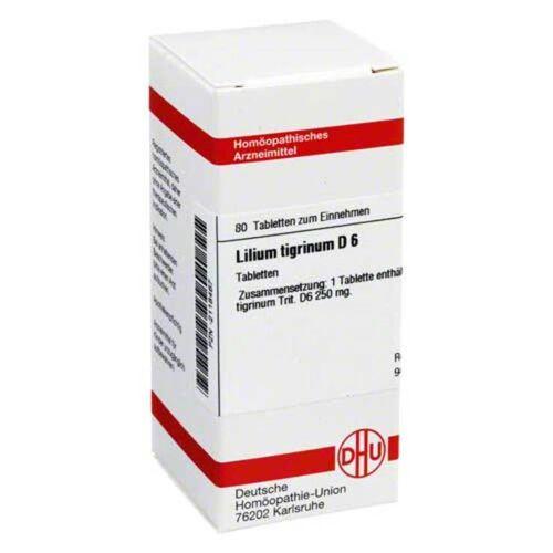 DHU Lilium tigrinum D 6 Tabletten