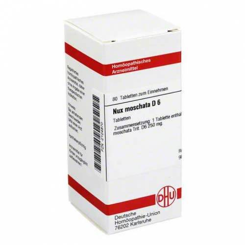 DHU Nux moschata D 6 Tabletten