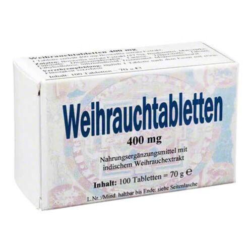 Bios Medical Services Weihrauch 400 mg Tabletten
