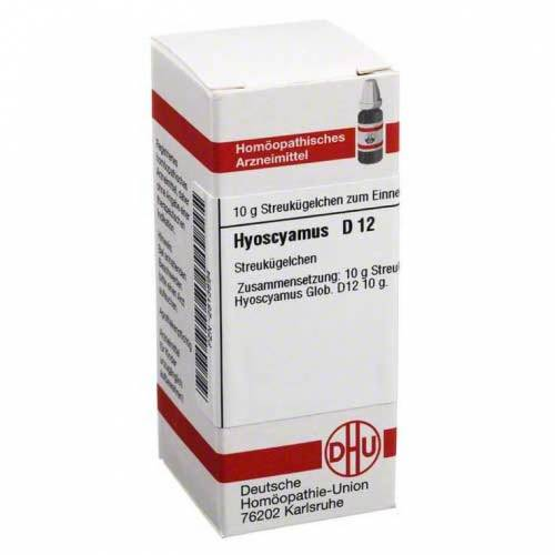 DHU Hyoscyamus D 12 Globuli