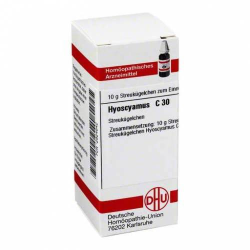 DHU Hyoscyamus C 30 Globuli