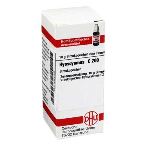 DHU Hyoscyamus C 200 Globuli
