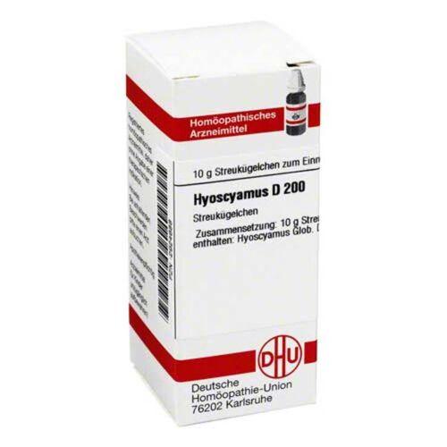 DHU Hyoscyamus D 200 Globuli