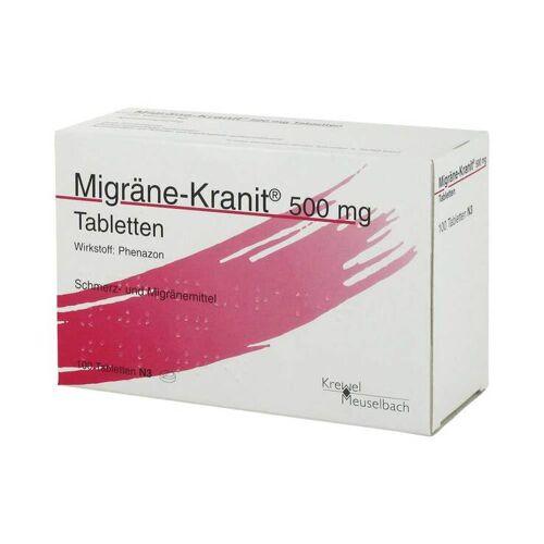 Migräne-Kranit Migräne Kranit 500 mg Tabletten