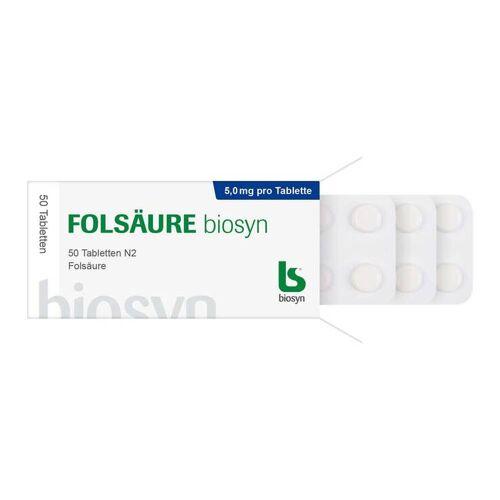 Folsäure biosyn Folsäure 5 mg Tabletten