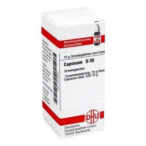 DHU Capsicum D 30 Globuli