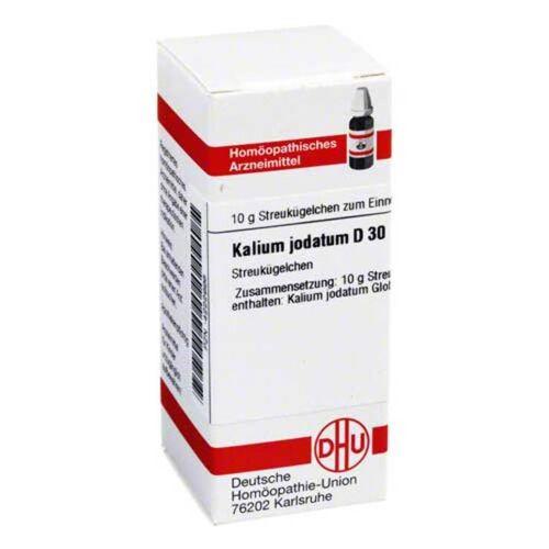 DHU Kalium jodatum D 30 Globuli