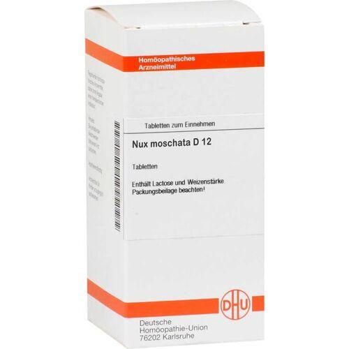 DHU Nux moschata D 12 Tabletten