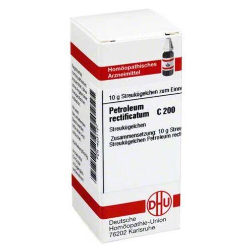 DHU Petroleum rectificatum C 200 Globuli