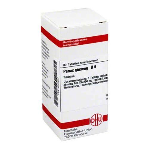 DHU Panax Ginseng D 6 Tabletten