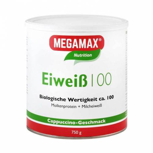Megamax Eiweiss 100 Cappuccino Megam