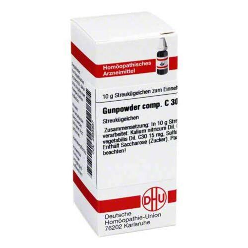 DHU Gunpowder comp. C 30 Globuli