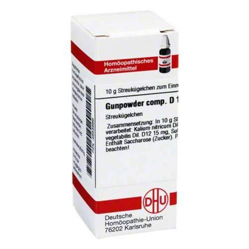 DHU Gunpowder comp. D 12 Globuli