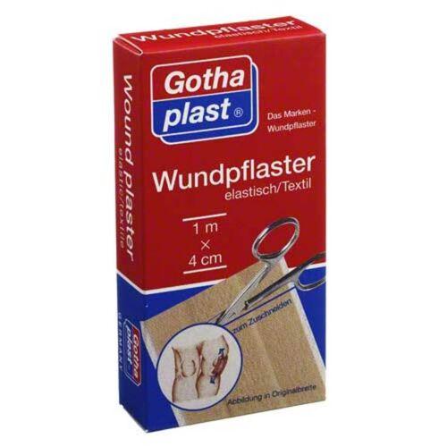 Gothaplast Wundpflaster elast 4 cm x 1 m geschnitten
