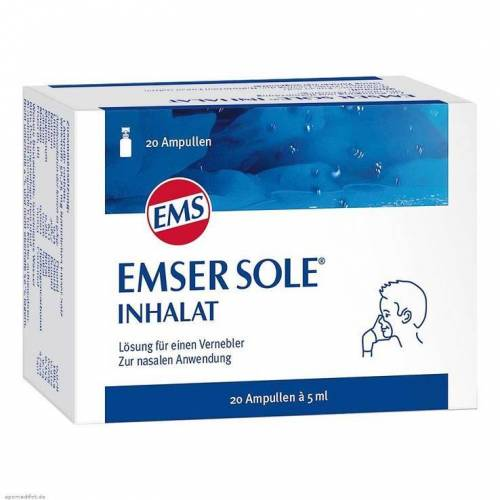 Emser Sole Inhalat Inhalationsampullen