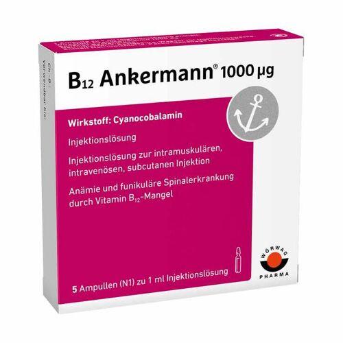 Ankermann B12 Ankermann 1000 µg Ampullen