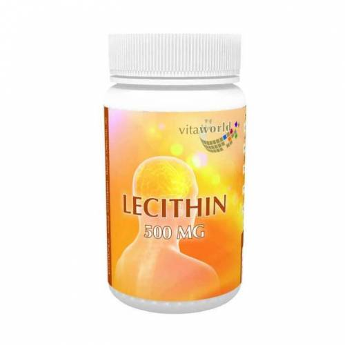 Vitaworld Lecithin 500 mg Kapseln