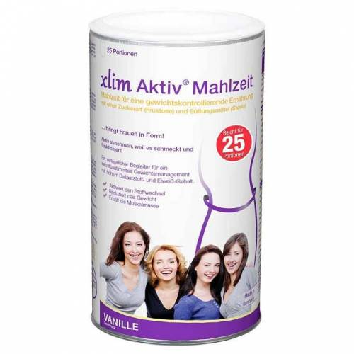 Xlim Aktiv-Mahlzeit Vanille Pulver