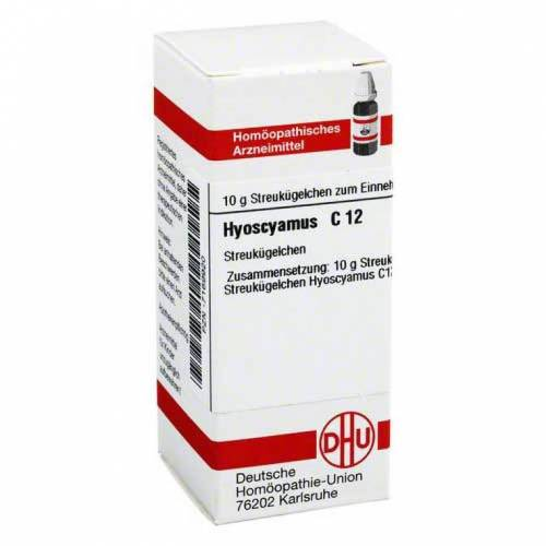 DHU Hyoscyamus C 12 Globuli