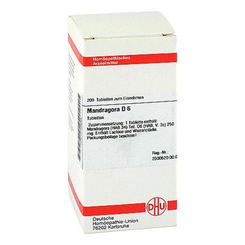 DHU Mandragora D 6 Tabletten