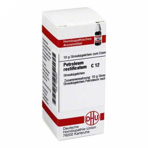 DHU Petroleum rectificatum C 12 Globuli
