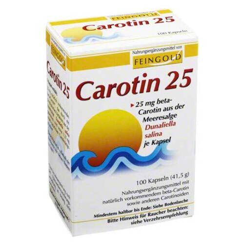Feingold Carotin 25 Feingold Kapseln