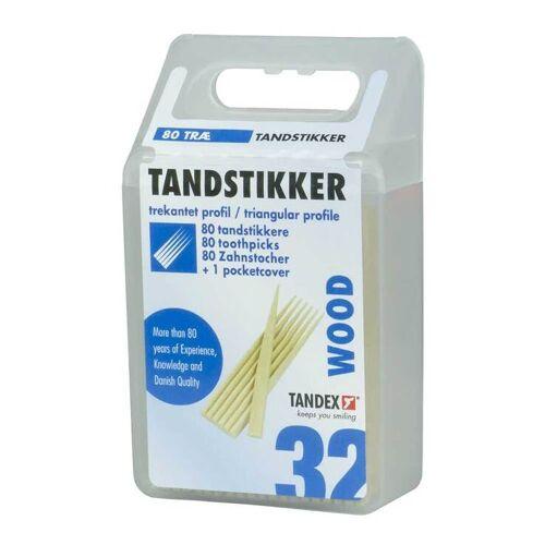 Tandex Zahnstocher Holz