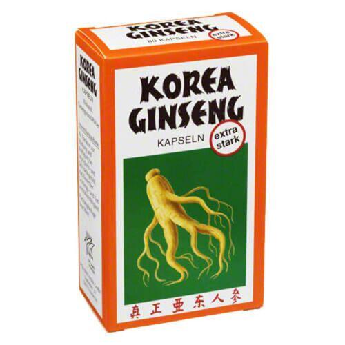 Korea Ginseng extra stark