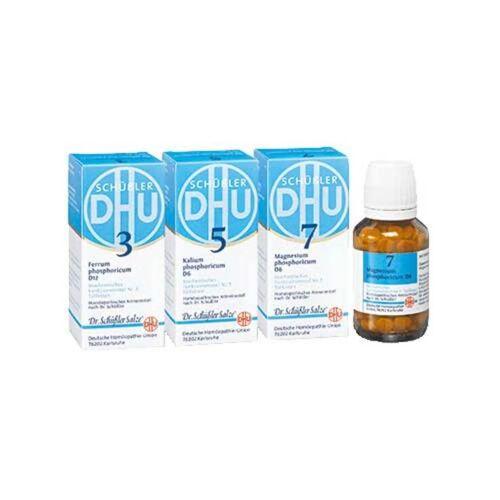 DHU Schüßler DHU Schüssler-Salze Energie-Kur Tabletten, 3x200