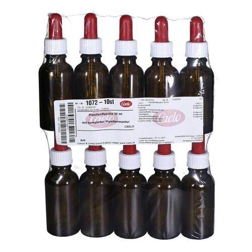 Caelo Pipettenflasche 30 ml mit kompl.Pipettenmontur