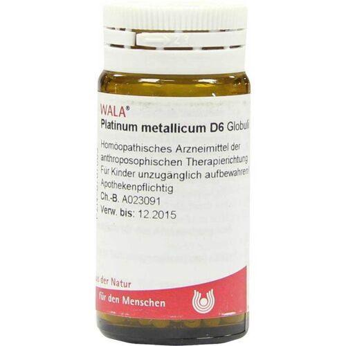 Platinum metallicum D 6 Globuli