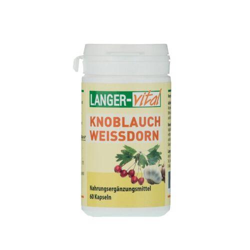 Knoblauch 220 mg Weißdorn Kapseln