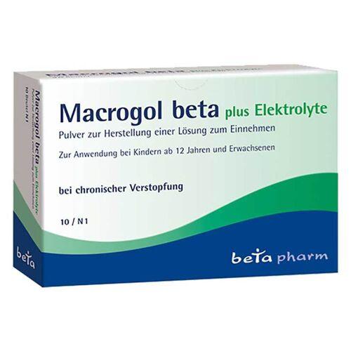 Beta Macrogol beta plus Elektrolyte Pulver