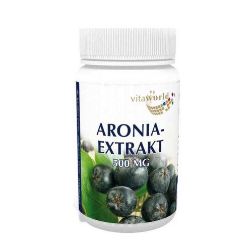 Vitaworld Aronia Extrakt 500 mg Kapseln