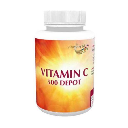 Vitaworld Vitamin C 500 depot Kapseln