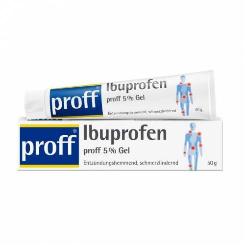 Proff Ibuprofen proff 5% Gel
