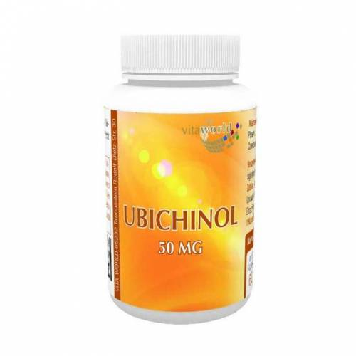 Vitaworld Ubichinol 50 mg Kapseln