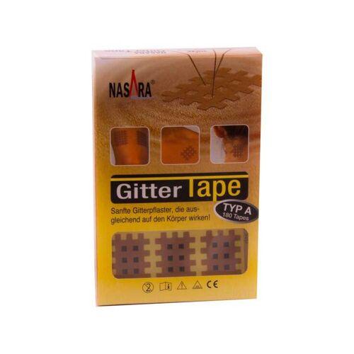 Nasara Gitter Tape Type A 22x27 mm 20x9 Pflaster