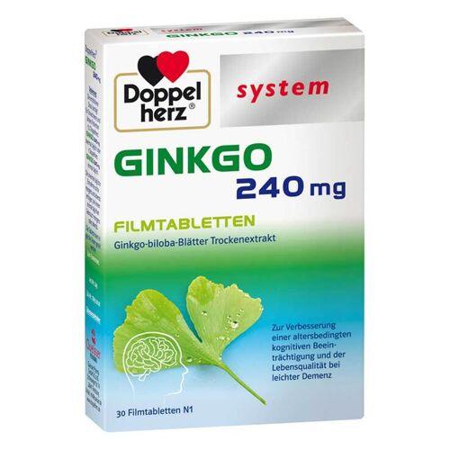 Doppelherz Ginkgo 240 mg system Filmtabletten